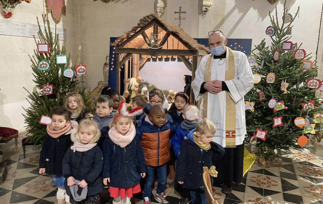 Célébration enfants école Sainte-Marie