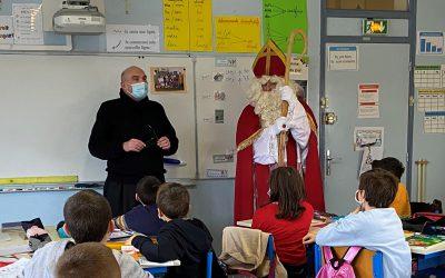 Visite de Saint Nicolas à l'école Notre-Dame