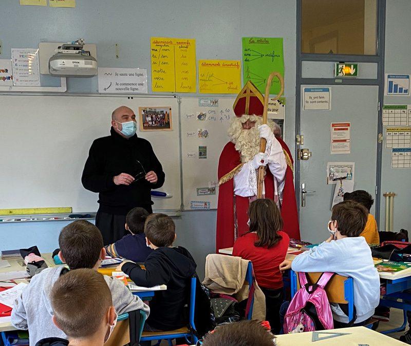 Visite surprise à l'école Notre-Dame