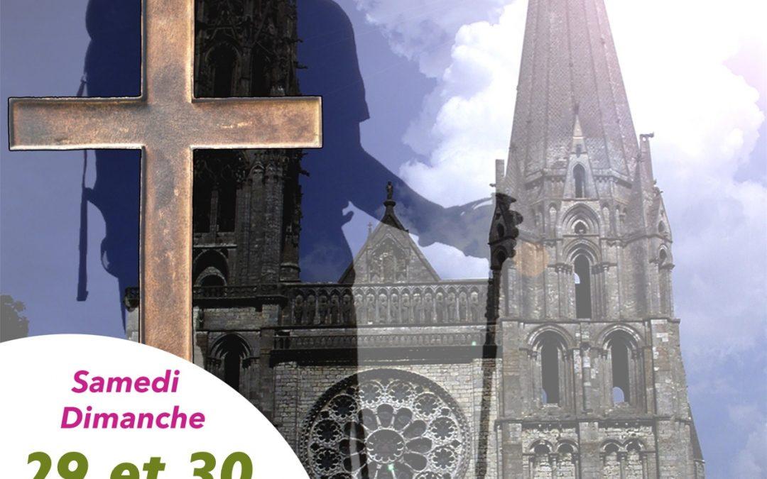 Affiche pèlerinage AFC Eure-et-Loir
