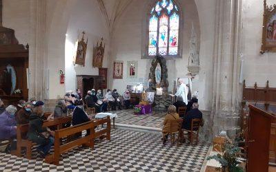 Les reliques de Sainte Bernadette dans le Doyenné des Forêts