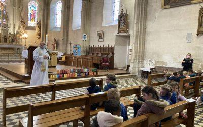 Célébration de Pâques à l'école Sainte Marie