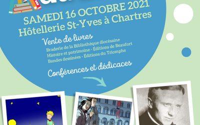 1ère Journée du Livre à Chartres!