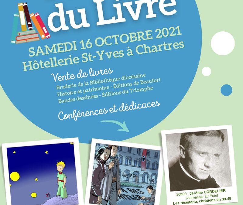 Vente de livres et conférences Chartres